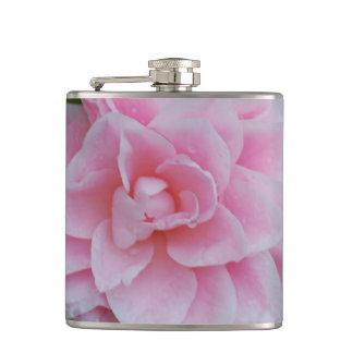 Flowering Pink Camelia Flask