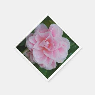 Flowering Pink Camelia Napkin