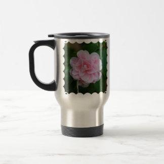 Flowering Pink Camelia Travel Mug