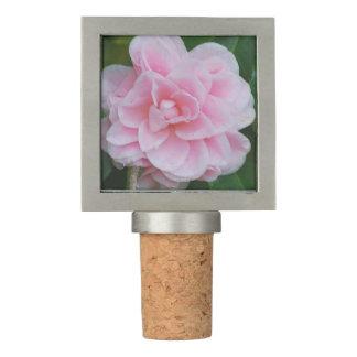 Flowering Pink Camelia Wine Stopper