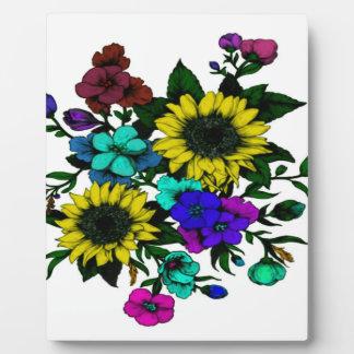 Flowering Plaque