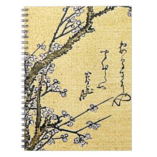 Flowering Plum Notebook