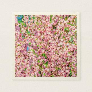 Flowering Plum Paper Napkin