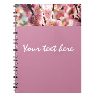 Flowering Plum - Pink Paradize Notebook