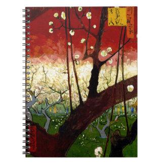 Flowering Plum Tree after Hiroshige by Van Gogh Notebook
