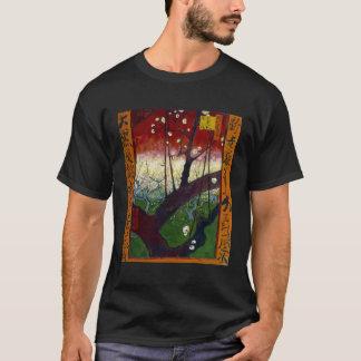 Flowering Plum Tree (after Hiroshige) Van Gogh T-Shirt