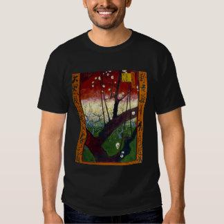 Flowering Plum Tree (after Hiroshige) Van Gogh Tee Shirt