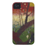 Flowering plum tree Barely There™ iPhone 4 iPhone 4 Covers