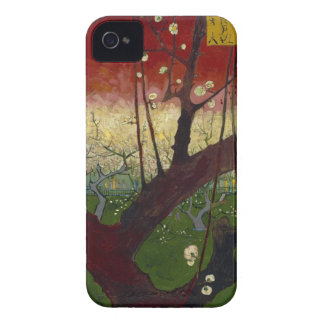 Flowering plum tree Barely There™ iPhone 4 iPhone 4 Case-Mate Cases