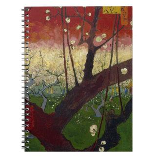 Flowering Plum Tree by Vincent Van Gogh Notebooks