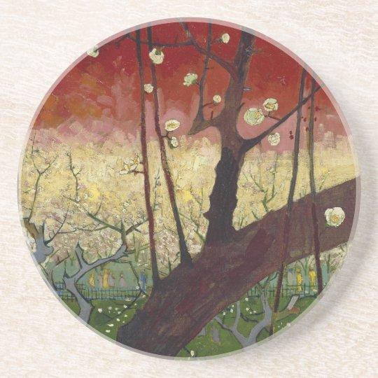 Flowering plum tree Coaster