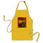 Flowering Plum Tree (Hiroshige) Van Gogh Fine Art Adult Apron