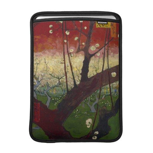 Flowering plum tree Macbook Air Sleeve