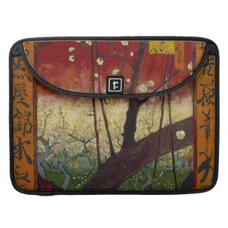 Flowering plum tree Macbook Pro Flap Sleeve MacBook Pro Sleeve