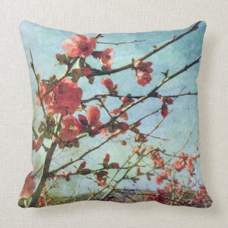 Flowering Quince American MoJo Pillows