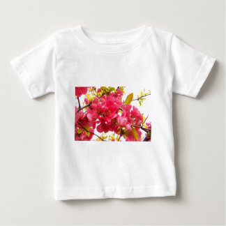 Flowering Quince Japan Pink Spring Flowers Shrub Infant T-shirt
