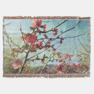 Flowering Quince Throw