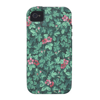 Flowering rose bush wallpaper 1865-1875 iPhone 4/4S case