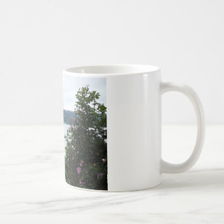 Flowering Shrubs on the Water Classic White Coffee Mug