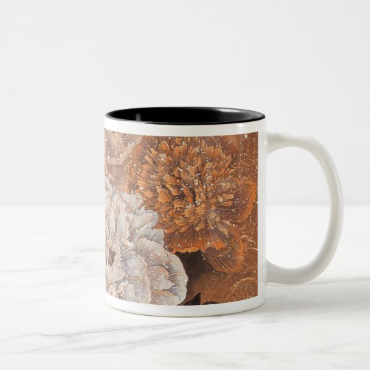 Flowering Shrubs Two-Tone Coffee Mug