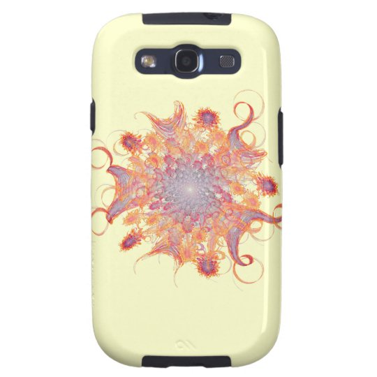 Flowering Sun Fractal Galaxy S3 Cover