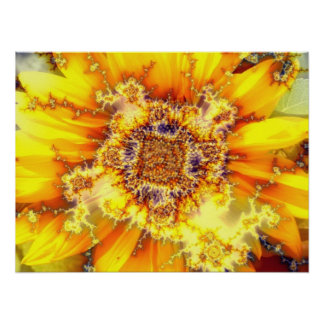 Flowering Sun - Poster