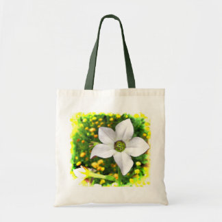 Flowering Tobacco Canvas Bag