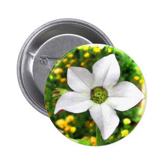 Flowering Tobacco Pinback Button