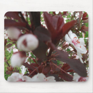 Flowering Tree Abstract Mouse Pad