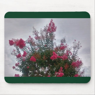 Flowering Tree Against Sky, Horizontal Mouse Pad