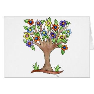 Flowering Tree Card