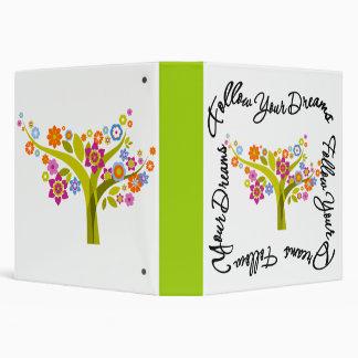 Flowering Tree - Follow Your Dreams Binder