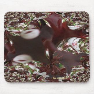 Flowering Tree Fractal Mousepad