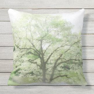 Flowering Tree Outdoor Pillow