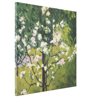 Flowering Trees | Kolo Moser Canvas Print