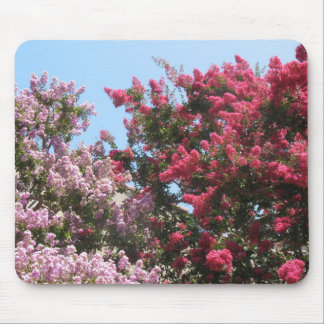 flowering trees mouse pad