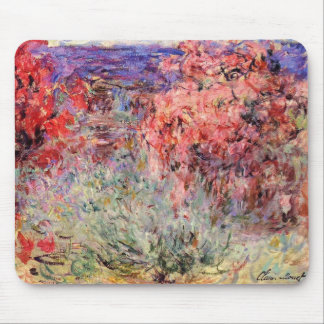 Flowering Trees near the Coast Mouse Pad