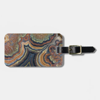 Flowering tube onyx tag for luggage