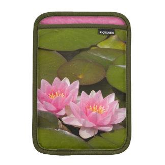 Flowering water lilies iPad mini sleeve