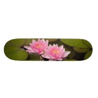 Flowering water lilies skateboard