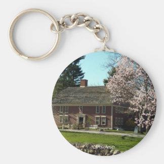 Flowering Wayside Inn Keychain