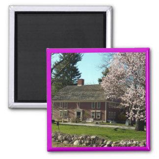 Flowering Wayside Inn Magnet