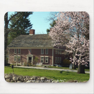Flowering Wayside Inn Mouse Pad