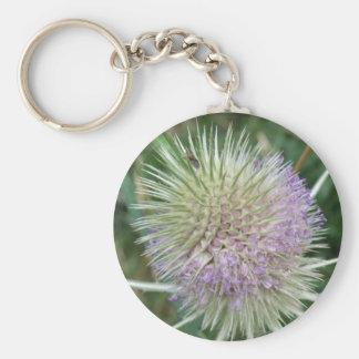 Flowering Wild Grass Keychain