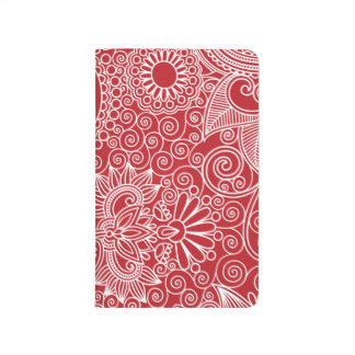 FlowerJungle in Red and White Journals