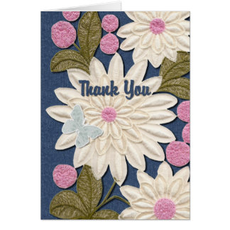 Flowerly Thank You Card
