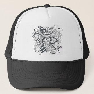 FlowerofHearts Trucker Hat