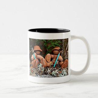 Flowerpot Gardeners Two-Tone Coffee Mug