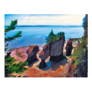 Flowerpot Rocks Postcard