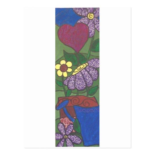 FlowerPotA Postcard